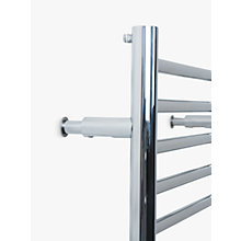 Buy John Lewis Radiator Adjust Brackets, Polished Chrome Online at johnlewis.com