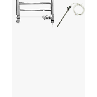 John Lewis Standard Dual Fuel Electric Radiator Kit, Polished Chrome