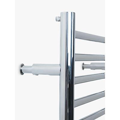 John Lewis Radiator Adjust Brackets, Polished Chrome