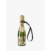 Buy Champagne Nicolas Feuillatte Brut with a Jacket, 1/4 Bottle , 20cl Online at johnlewis.com