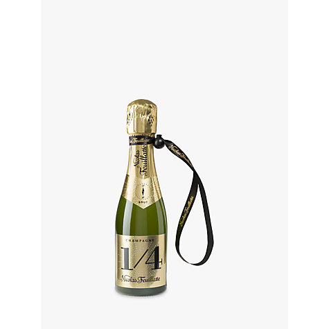 Buy Champagne Nicolas Feuillatte Brut with a Jacket, 20cl Online at johnlewis.com