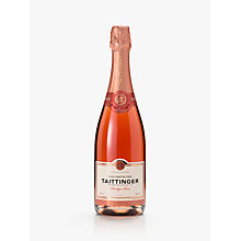 Buy Taittinger Rose and 2 Glasses Set, 75cl Online at johnlewis.com