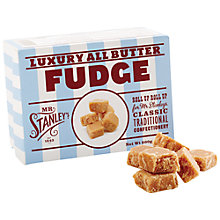 Buy Mr Stanley's Butter Fudge, 200g Online at johnlewis.com