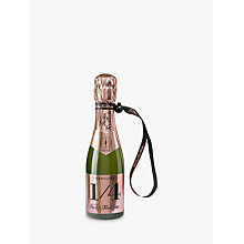 Buy Champagne Nicolas Feuillatte Rose with a Jacket, 1/4 Bottle , 20cl Online at johnlewis.com