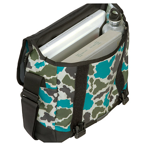 Buy The North Face Base Camp Small Messenger Bag, Camo Green/Grey Online at johnlewis.com
