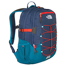Buy The North Face Borealis Backpack, Cosmic Blue/Fiery Red Online at johnlewis.com