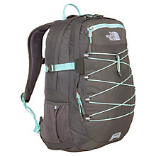 Buy The North Face Borealis Backpack, Graphite Grey/Beach Glass Green Online at johnlewis.com