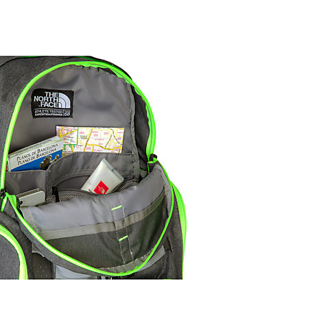 Buy The North Face Trappist Backpack, Grey/Green Online at johnlewis.com
