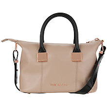 Buy Ted Baker Felmar Leather Tote Bag Online at johnlewis.com