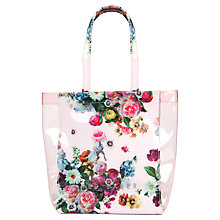 Buy Ted Baker Oliocon Small Shopper Bag, Nude Pink Online at johnlewis.com
