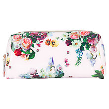 Buy Ted Baker Anza Large Washbag, Nude Pink Online at johnlewis.com
