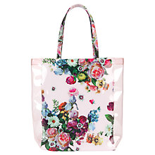 Buy Ted Baker Taincon Tote Bag, Pink Online at johnlewis.com