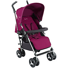 Buy Silver Cross Reflex Pushchair, Raspberry Online at johnlewis.com