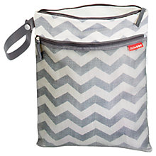 Buy Skip Hop Grab & Go Wet/Dry Bag, Chevron Online at johnlewis.com