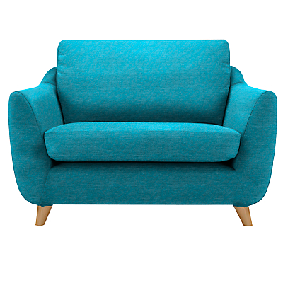 G Plan Vintage The Sixty Seven Snuggler, Fleck Blue