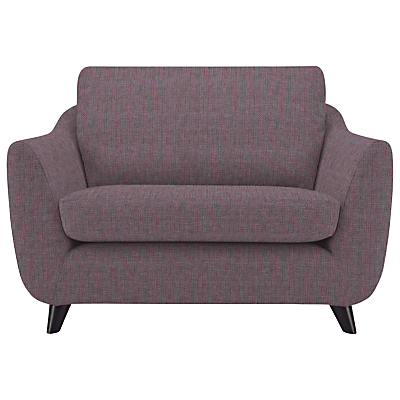 G Plan Vintage The Sixty Seven Snuggler, Weave Plum