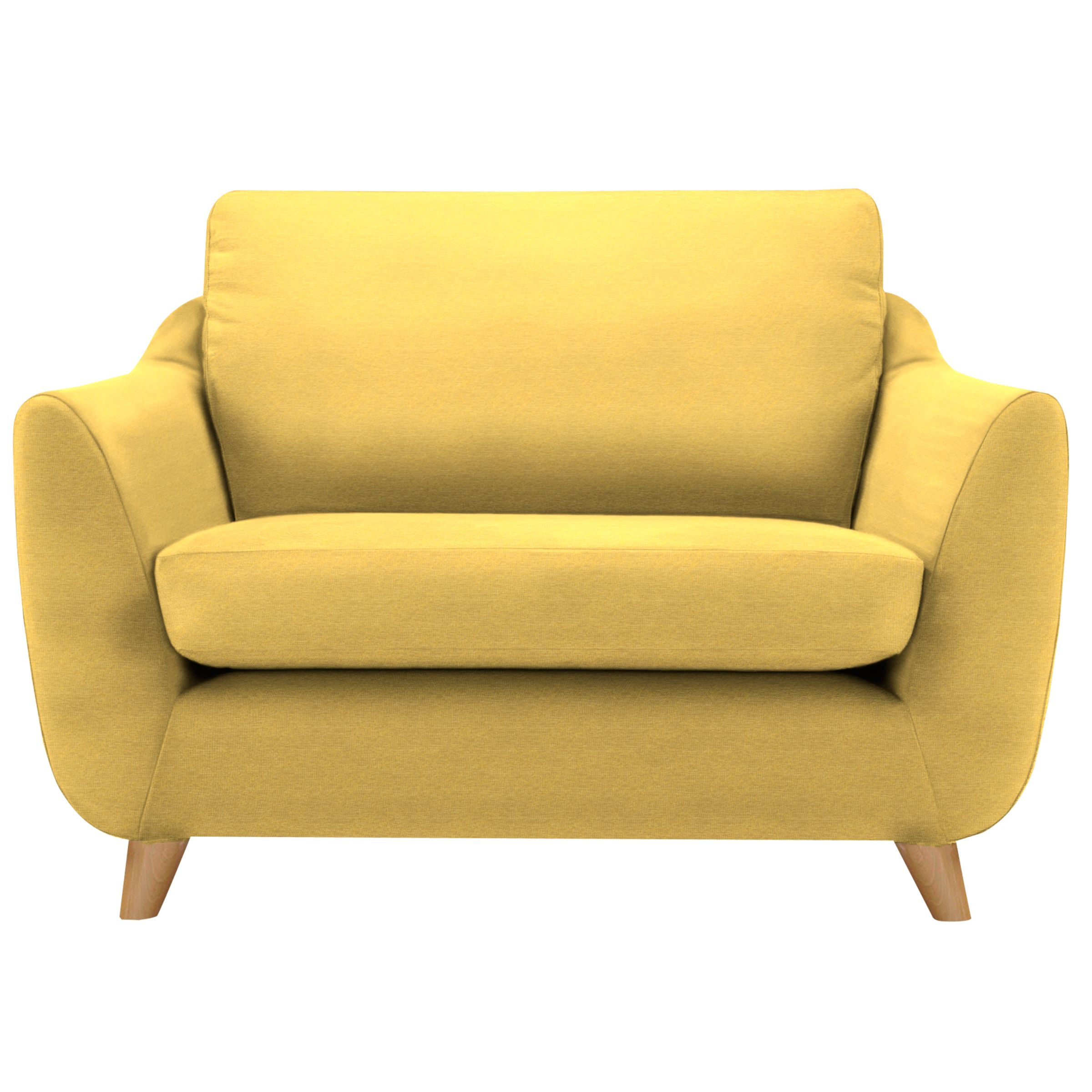 G Plan Vintage The Sixty Seven Snuggler, Tonic Mustard
