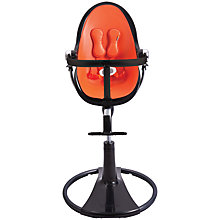 Buy bloom Fresco Chrome Highchair, Black Finish Online at johnlewis.com
