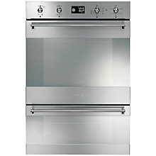 Buy Smeg DOSP38X Double Electric Oven, Stainless Steel Online at johnlewis.com