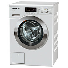 Buy Miele WKF 120 Freestanding Washing Machine, 8kg Load, A+++ Energy Rating, 1600rpm Spin, ChromeEdition Online at johnlewis.com