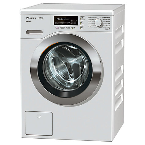 Buy Miele WKF 120 Washing Machine, 8kg Load, A+++ Energy Rating, 1600rpm Spin, ChromeEdition Online at johnlewis.com
