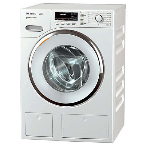 Buy Miele WMR 560 WPS Washing Machine, 9kg Load, A+++ Energy Rating, 1600rpm Spin, WhiteEdition Online at johnlewis.com