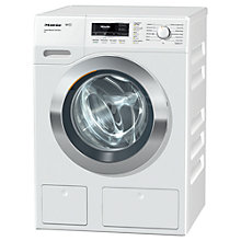Buy Miele WKR 570 WPS Washing Machine, 9kg Load, A+++ Energy Rating, 1600rpm Spin, ChromeEdition Online at johnlewis.com