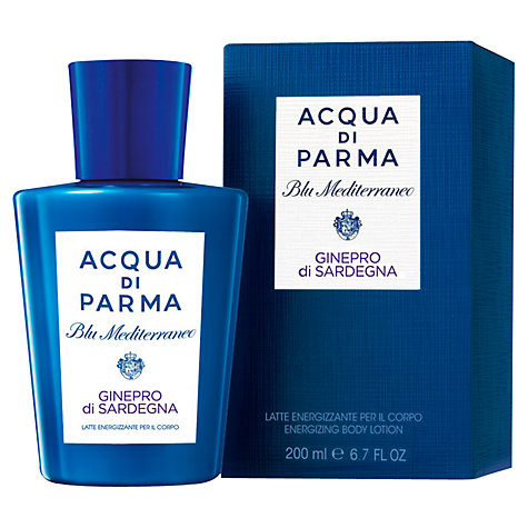 Buy Acqua di Parma Blu Meditarraneo Ginepro Di Sardegna Body Lotion, 200ml Online at johnlewis.com