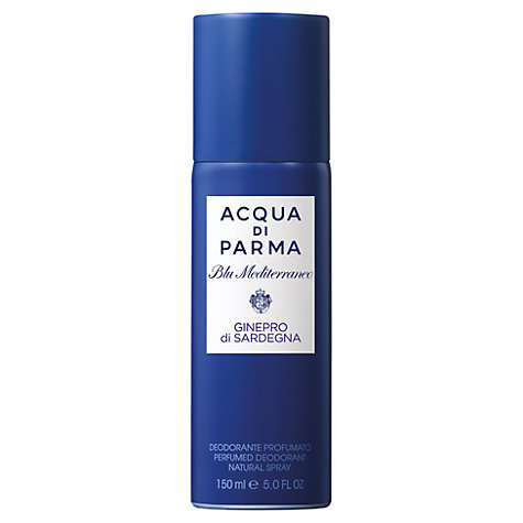 Buy Acqua di Parma Blu Mediterraneo Ginepro Di Sardegna Deo Spray, 150ml Online at johnlewis.com