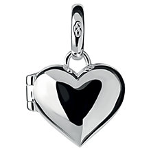 Buy Links of London Valentines Sterling Silver Heart Locket Charm Online at johnlewis.com