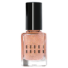 Buy Bobbi Brown Limited Edition Glitter Nail Polish, Bare Peach Online at johnlewis.com