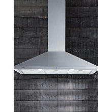 Buy Elica Tamaya HP 90 Chimney Cooker Hood, Stainless Steel Online at johnlewis.com