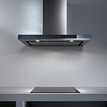Buy Elica Horizonte 90 Chimney Cooker Hood, Stainless Steel/Glass Online at johnlewis.com