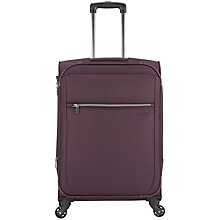Buy Antler Marcus 4-Wheel Medium Suitcase, Aubergine Online at johnlewis.com