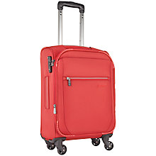 Buy Antler Marcus 4-Wheel 56cm Cabin Suitcase, Red Online at johnlewis.com