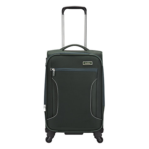 Buy Antler Cyberlite 4-Wheel Expandable Cabin Suitcase, Sycamore Green Online at johnlewis.com