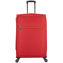 Buy Antler Marcus 4-Wheel Large Suitcase, Red Online at johnlewis.com