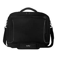 "Buy Antler Metis 15.4"" Laptop Bag, Black Online at johnlewis.com"