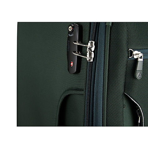 Buy Antler Cyberlite 4-Wheel Expandable Medium Suitcase, Sycamore Green Online at johnlewis.com
