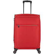 Buy Antler Marcus 4-Wheel Medium Suitcase, Red Online at johnlewis.com