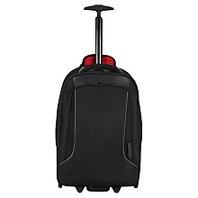 "Buy Antler Metis 15.4"" Laptop Trolley Backpack, Black Online at johnlewis.com"