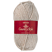 Buy Sidar Country Style Wool, 50g, Natural 409 Online at johnlewis.com