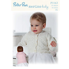 Buy Peter Pan Merino Baby DK Leaflet, P1163 Online at johnlewis.com