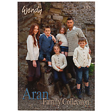 Buy Wendy Aran Family Collection Knitting Booklet Online at johnlewis.com