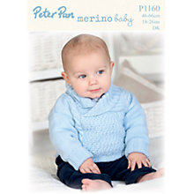 Buy Peter Pan Merino Baby DK Leaflet, P1160 Online at johnlewis.com