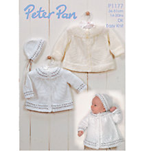 Buy Peter Pan DK Easy Knit Leaflet, P1177 Online at johnlewis.com