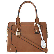 Buy Dune Dobby Tote Handbag, Tan Online at johnlewis.com
