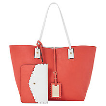 Buy Dune Dallop Scalloped Shopper Handbag Online at johnlewis.com