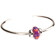 Buy Trollbeads Be My Valentine Sterling Silver Charm Bangle Online at johnlewis.com