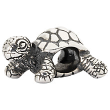 Buy Trollbeads African Tortoise Sterling Silver Charm Online at johnlewis.com